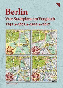 Berlin - Vier Stadtpläne im Vergleich