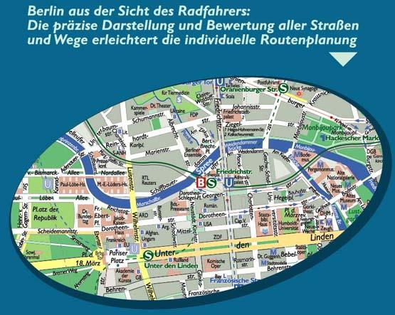 Fahrradplan Berlin