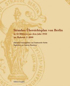 Mappe des Straube-Plans